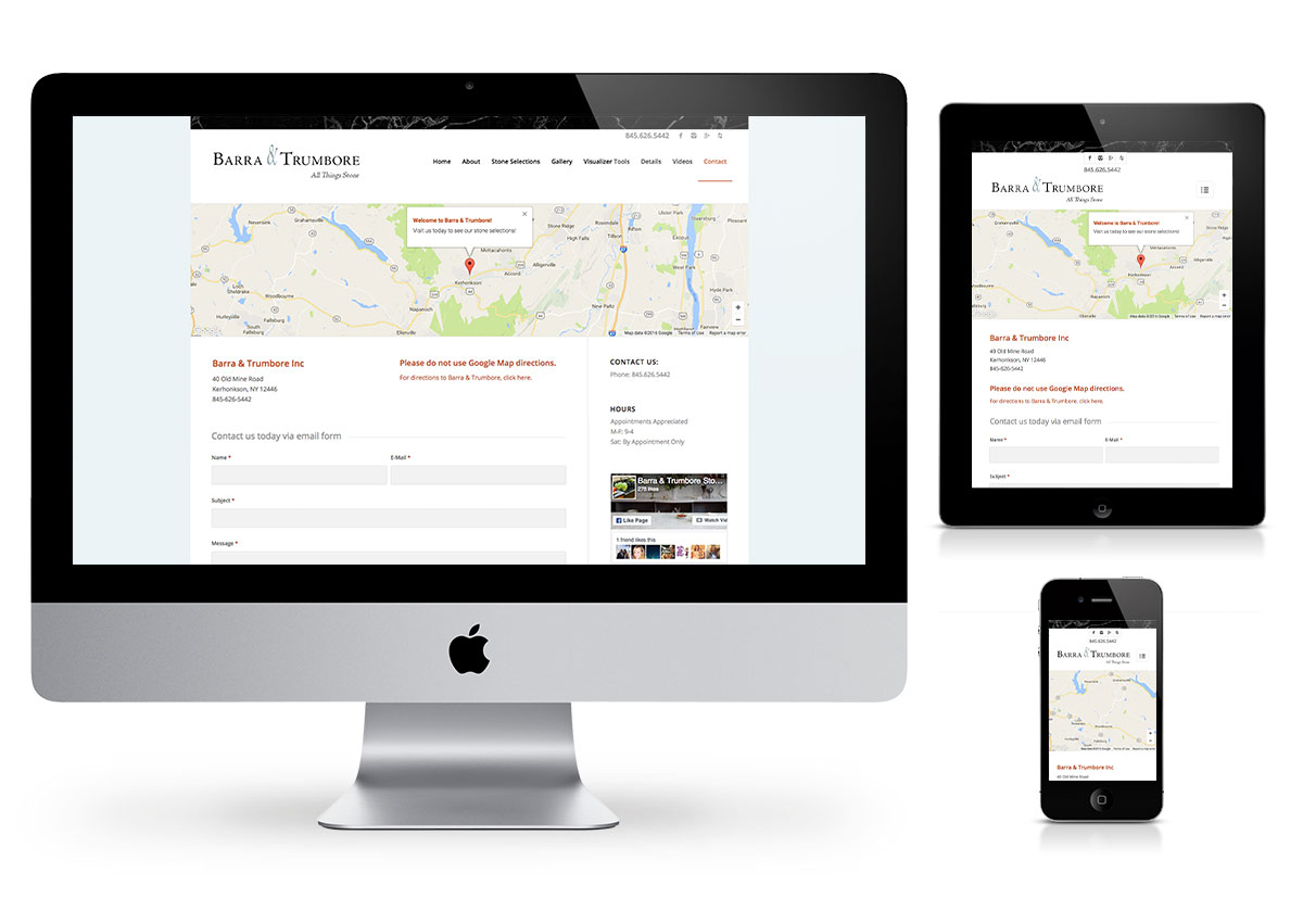 Wordpress Websites - Barra & Trumbore by Fab Web Philly