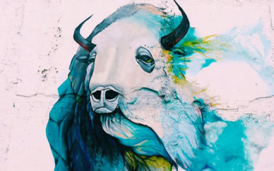 Blue Bison Mural – Northern Liberties