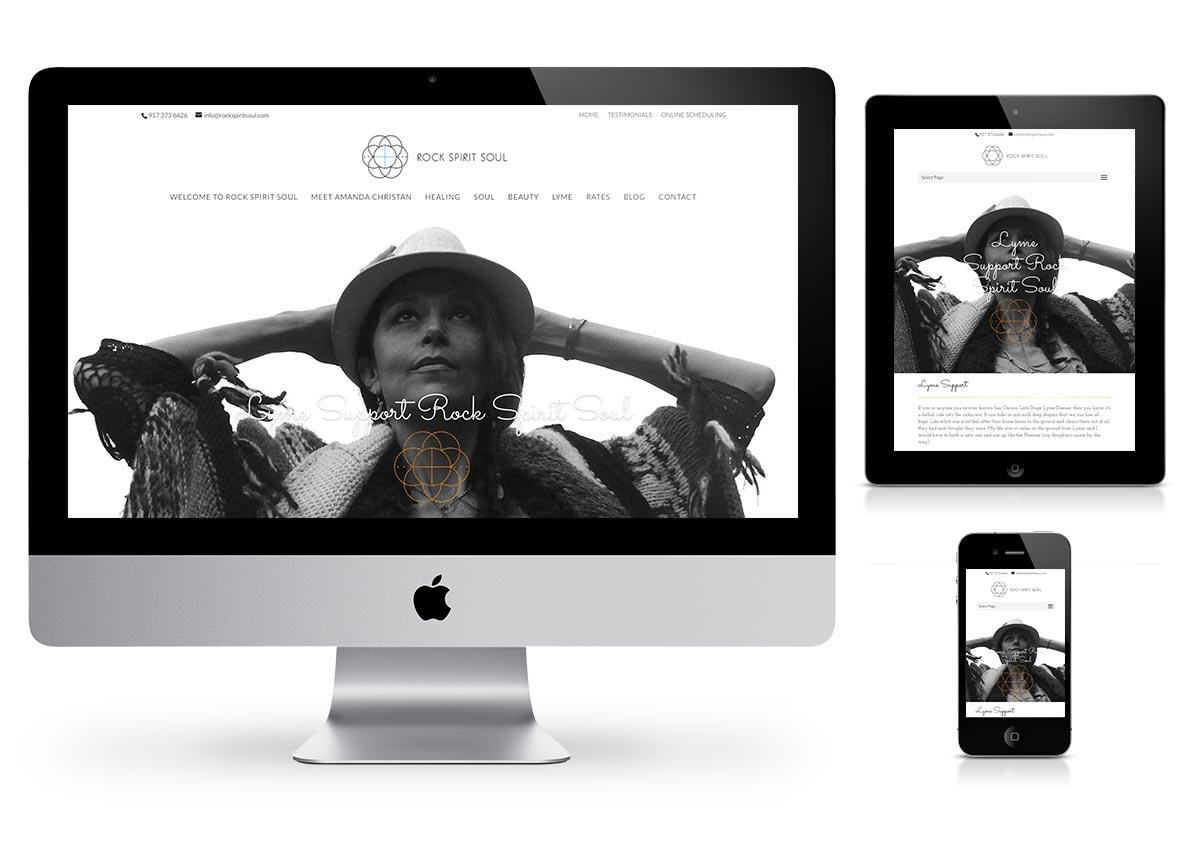 Rock Spirit Soul Wordpress Website by Fab Web Philly