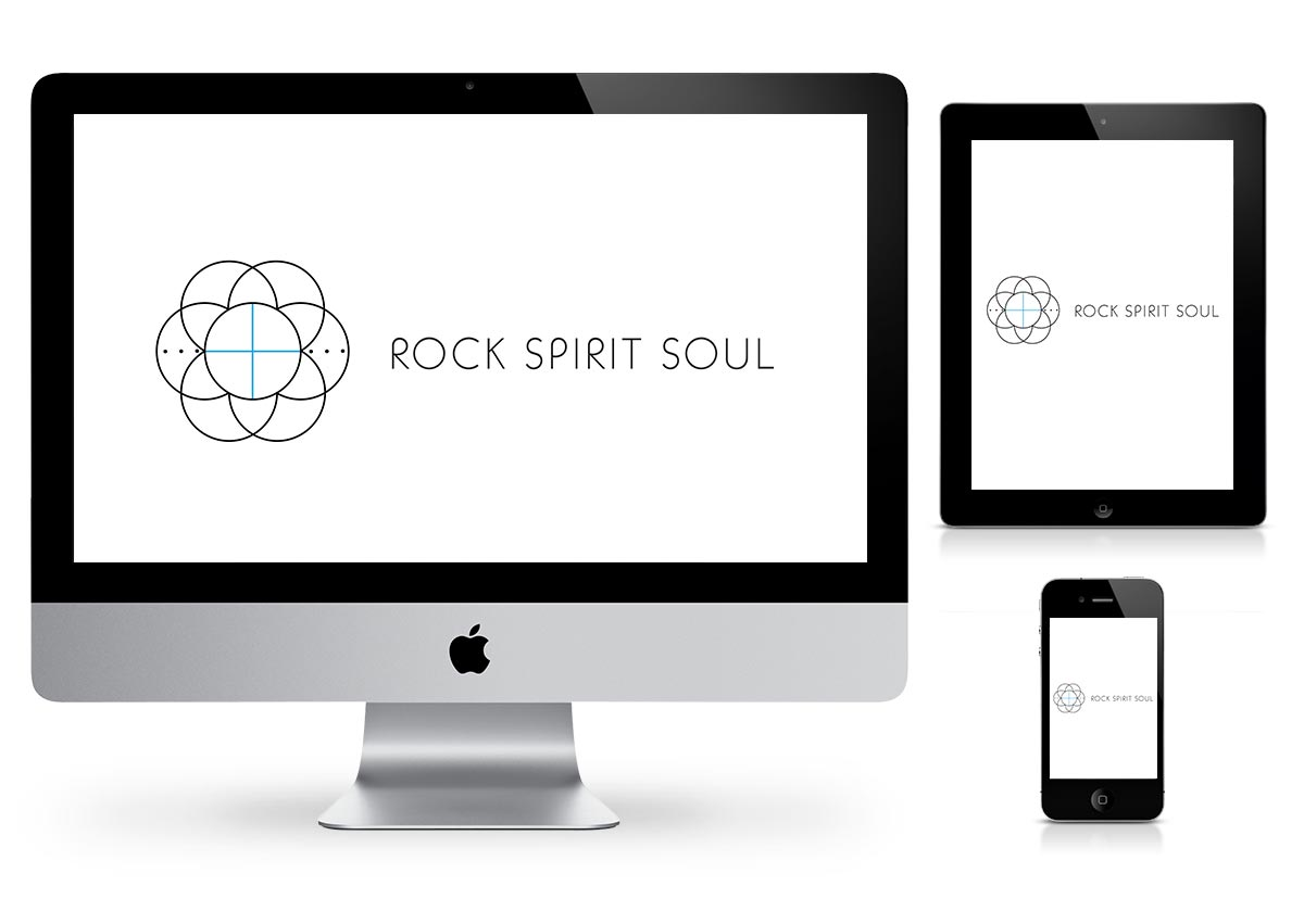 Rock Spirit Soul - Logo Design by Fab Web Philly