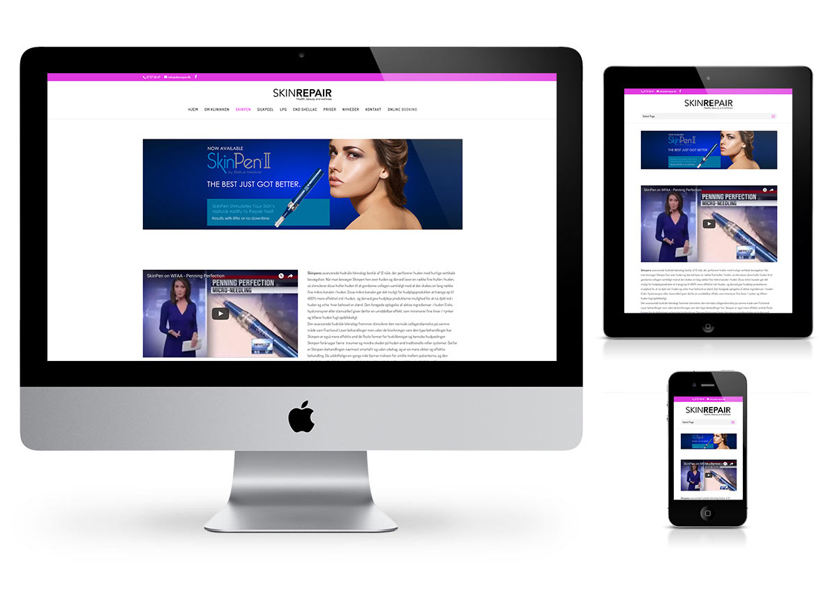 SkinRepair  - Wordpress by Fab Web Philly
