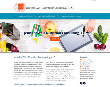 Jennifer Weis Nutrition Consulting