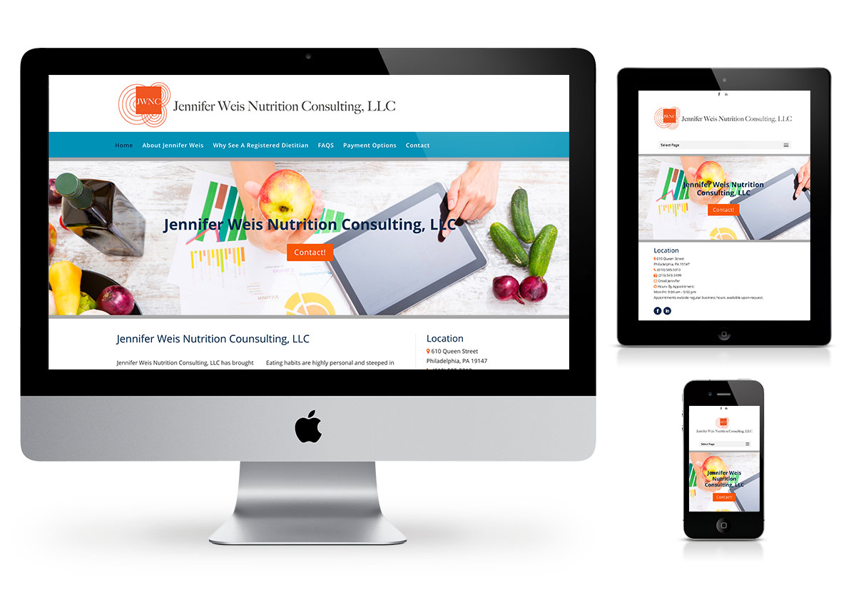 Affordable Websites by Fab Web - Jennifer Weis Nutrition Consulting