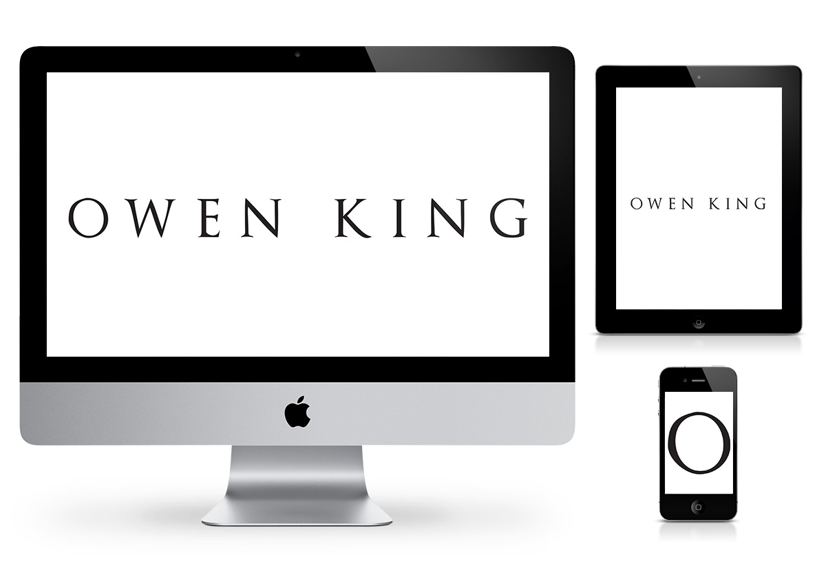 Owen King Logo by Fab Web Philly