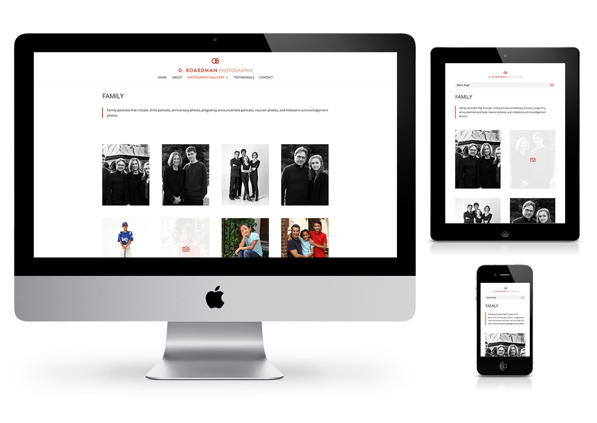 D. Boardman Photography Website by Fab Web Philly