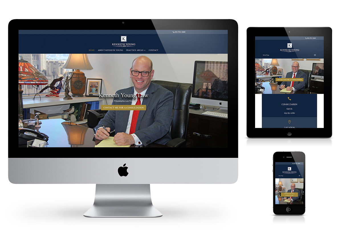 Kenneth Young Law - Fab Web Philly Websites