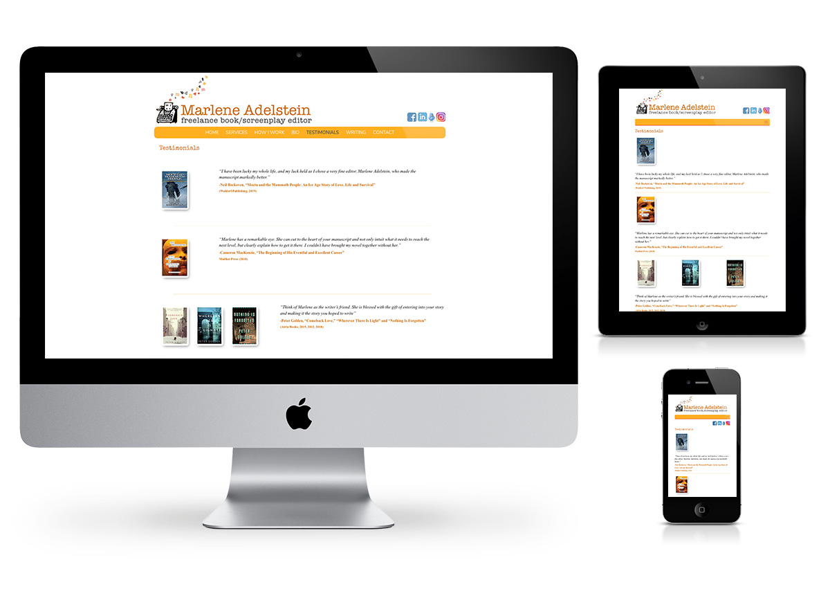 Fix Your Book Website by Fab Web Philly