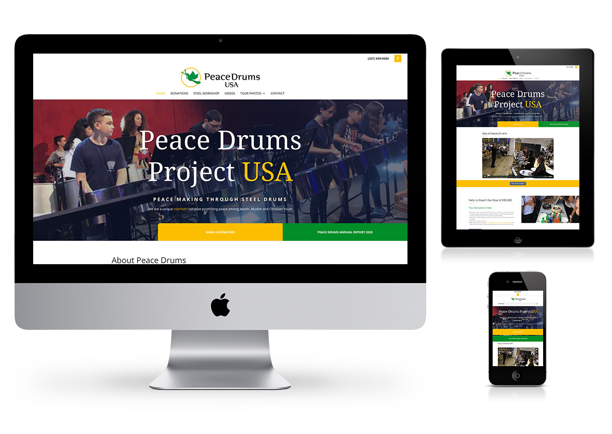 Website by fab web philly - Peace Drums USA