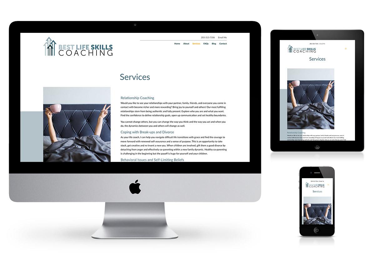 PHILALife Coaching Website Company